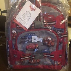 Pottery Barn Kids Cars Backpack Small